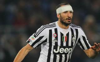 Juventus v Empoli: Chiellini expecting title battle with Napoli