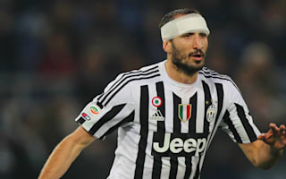 Juventus v Empoli: Chiellini expecting title battle with Napoli
