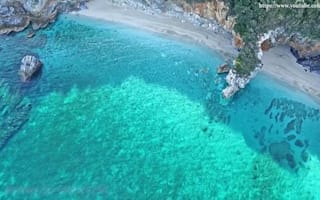 Wish you were here? Milopotamos beach, Crete