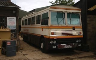 Margaret Thatcher's armoured bus sells for £17k