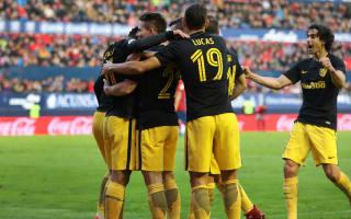 Simeone delighted as Atletico banish derby nightmare