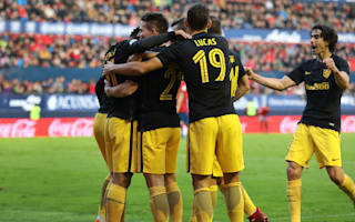 Simeone delighted as Atletico banish derby nightmare
