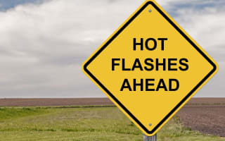 Coping with menopausal hot flushes