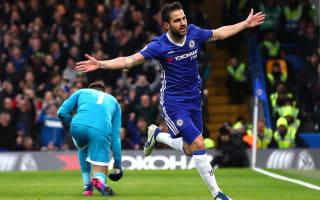 Conte praises 'great' Fabregas