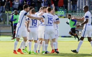 Cagliari 1 Inter 5: Europe in sight as Pioli's men hunt down Atalanta