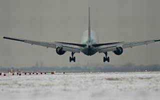 Vikings stuck for hours after team plane slides off runway