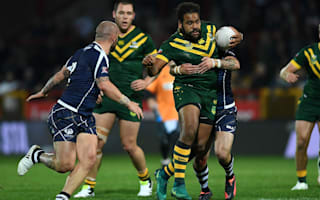 Thaiday a doubt for England clash