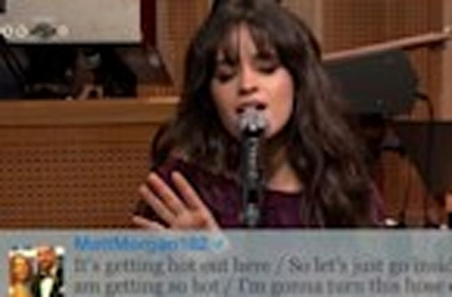 Camila Cabello Sings #SummerSongs & Flawlessly Covers Whitney Houston On The Ton