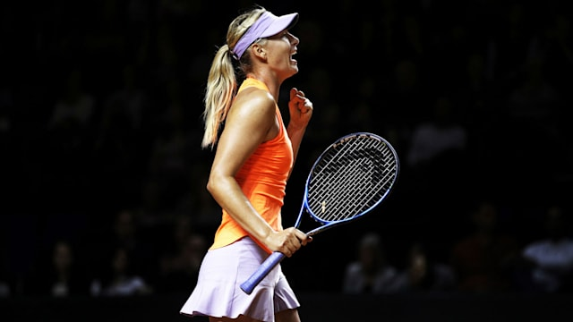 Bookmakers install Maria Sharapova as joint-favourite at French Open