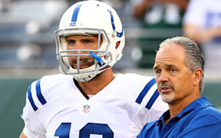Luck backs Colts coach Pagano, wants long-term stay