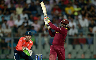 Glorious Gayle hundred inspires Windies to easy opening win