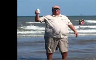Man battling flesh-eating bacteria after trip to Texas beach