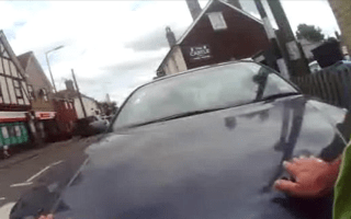 Teen 'hit traffic warden with car while fleeing from parking ticket'