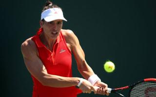 Wildcard Yastremska bagels Petkovic in first WTA win