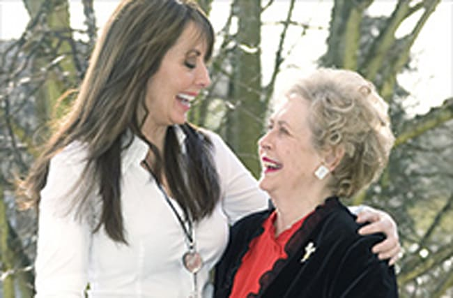 Vorderman thanks fans for support after mum's cancer news