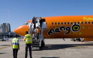 Passenger urinates in plane galley kitchen