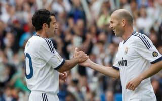 Figo fears for Zidane's Real Madrid future