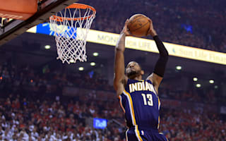 Paul George fined for kicking ball into stands