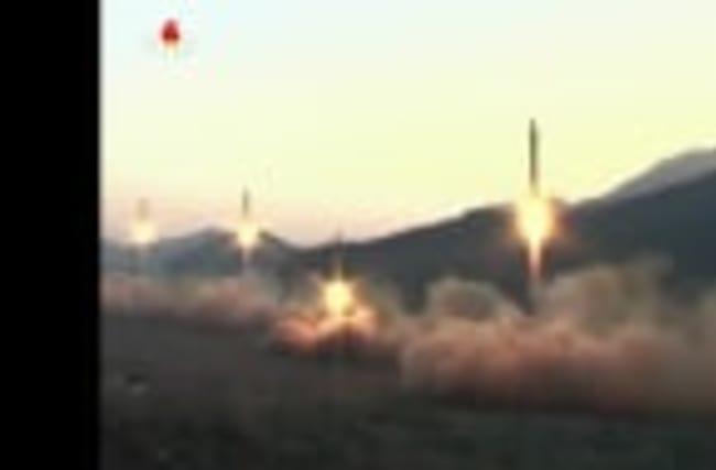 North Korea launches a short-range ballistic missile