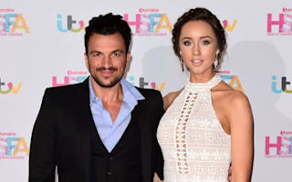 Baby boy for 'very happy' Peter Andre and his wife Emily MacDonagh