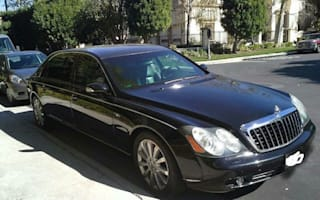 Charlie Sheen's Maybach goes on sale in California