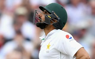 Misbah falls for 99, but Azhar scores century to put Pakistan on top