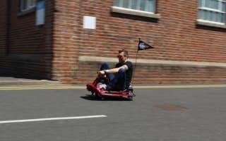 First drive: Razor Crazy Cart