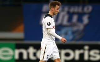Eriksen blames Tottenham's shock Europa League exit on poor finishing