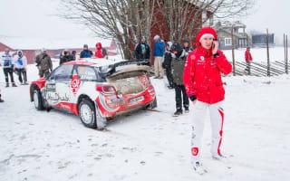 Ogier leads as rivals retire in Sweden