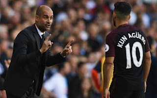Guardiola demands perfection from Aguero
