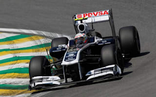 Williams has not run 2012 car yet