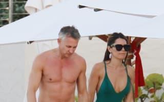 Photos: Gary and Danielle Lineker on Caribbean holiday