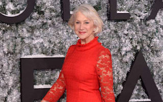 Dame Helen Mirren sizzles despite the cold at Collateral Beauty premiere