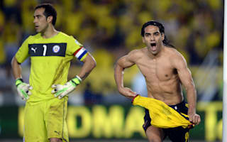Bacca hails Falcao return for Colombia