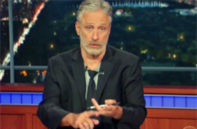 Jon Stewart returns to roast Donald Trump on The Late Show
