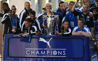 Ranieri and Vardy delight as thousands salute Leicester's heroes