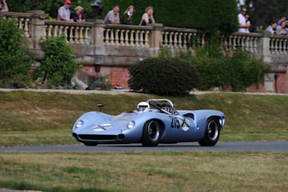 Historic racers head to Chateau Impney Hill Climb event
