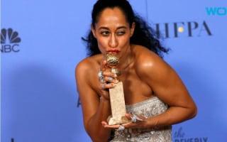 Tracee Ellis Ross dedicates Golden Globe prize to 'women of colour'