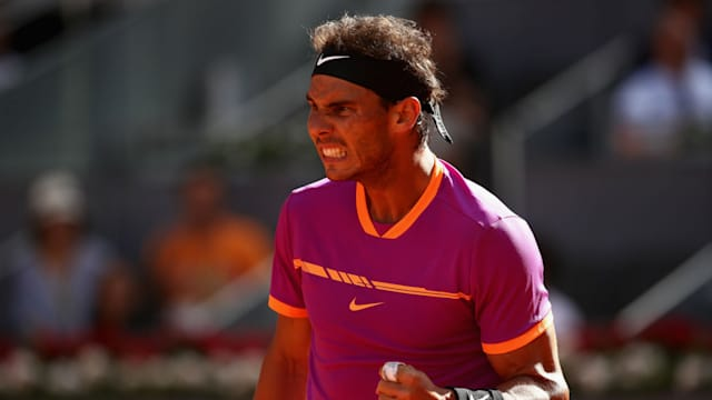 Rafael Nadal sets up semi-final clash with Novak Djokovic in Madrid
