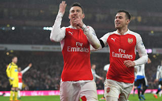 Arsenal still have title hope, insists Koscielny