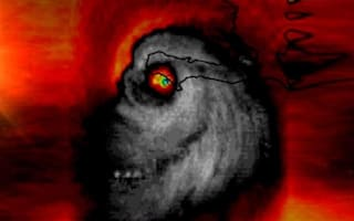 This satellite image of Hurricane Matthew is scaring everyone