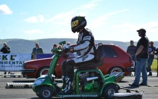 World's fastest mobility scooter hits 108mph