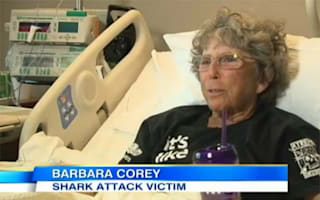 "Surfing instructor, 63, attacked by shark says she's ""not giving up"""
