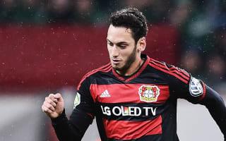 Spurs want Calhanoglu, claims agent