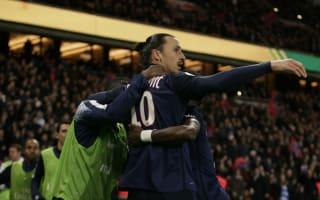 Ibrahimovic hails PSG depth as champions make Ligue 1 history