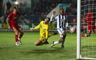 Bristol City 0 West Brom 1: Rondon seals comfortable passage for Premier League side