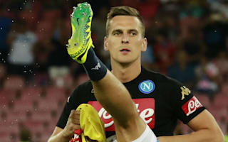Milik steps up knee injury comeback