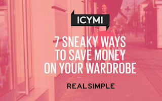 Sneaky ways to save money on your wardrobe