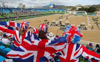 Great Britain 'very happy' to win team dressage silver