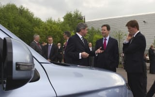 Deputy Prime Minister takes green cars up a gear